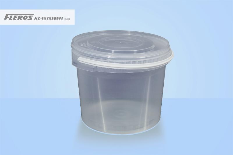 Round buckets - FK-R 10.000/1 bucket, round, PP