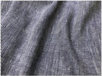 Linen cashmere - Blue color