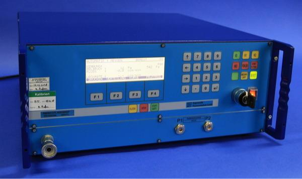 Leak test device PMD02-CFL/DFL - Mass flow with overflow technology für high pressure and vacuum