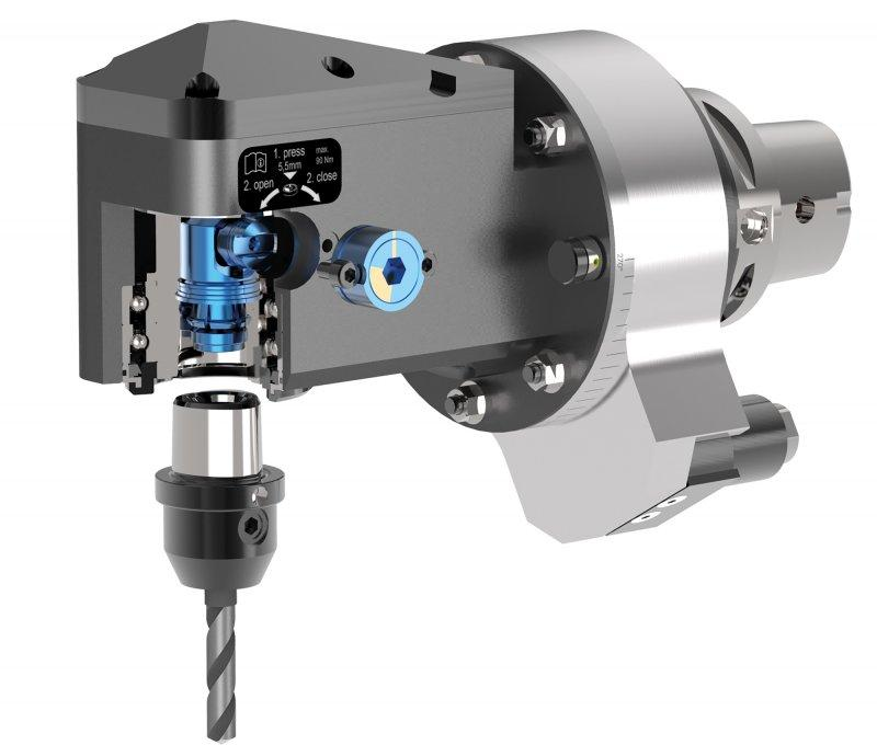 BENZ CAPTO™: Modulares Werkzeugsystem - Bedienerfreundliches, stabiles und höchst präzises Wechselsystem
