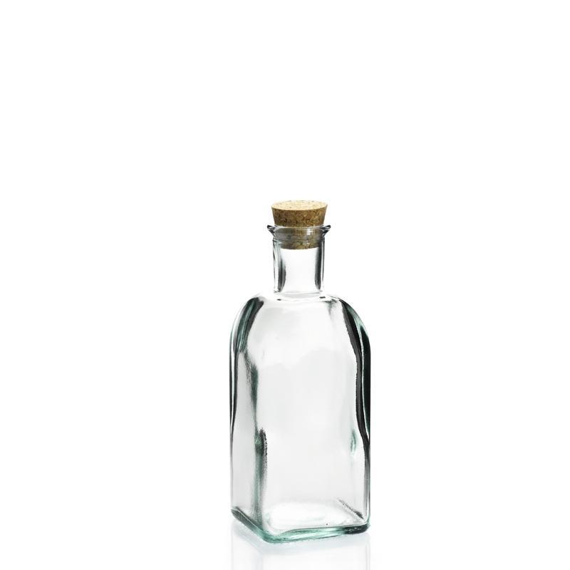 Bouteille 500 ml Frasco Carrée en verre recyclé 500 ml - Flacons et Carafes