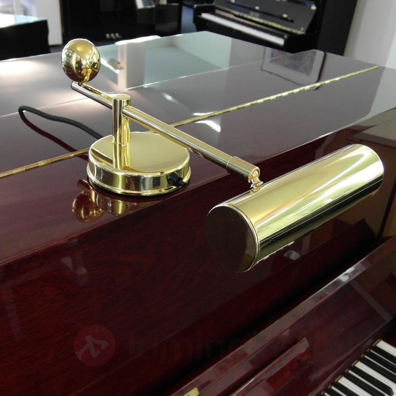 Lampe pour piano De Stijl laiton - Lampes à poser designs