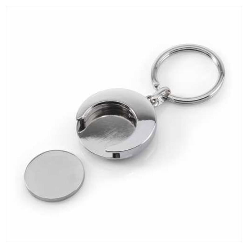 Porte-clés Jeton euro - Porte-clés métal