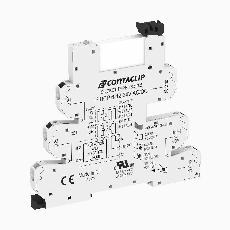 FIRCPU 1/240V AC |  Kompaktes Interface-Relais (IRC)  - null