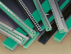 Направляющие для цепей - Направляющие из композитного материала Текрон для роликовых и звеньевых цепей