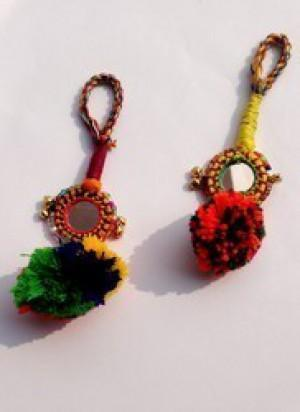 Indian Boho Key Rings -