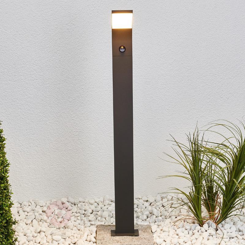 Borne lumineuse LED Timm avec capteur - Bornes lumineuses avec détecteur