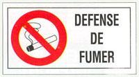 Panneaux d'interdictions - 960 * 480 mm - Rigides - Signalisation de sécurité