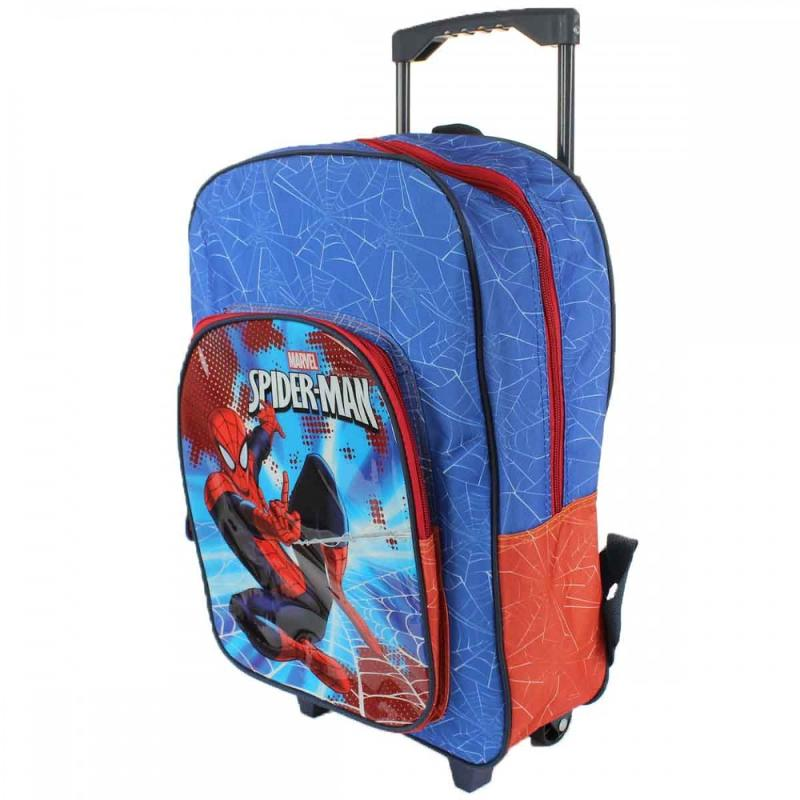 3x Trolleys Spiderman 41 cm - Sac et Sac à dos