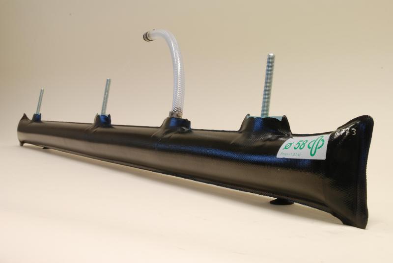 gripper tubes for long neck bottles