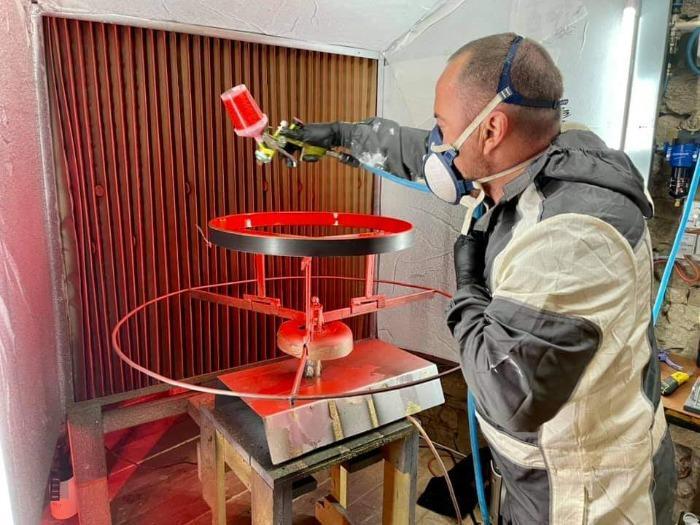 PAINT MODUL' - Cabina de pintura compacta en kit