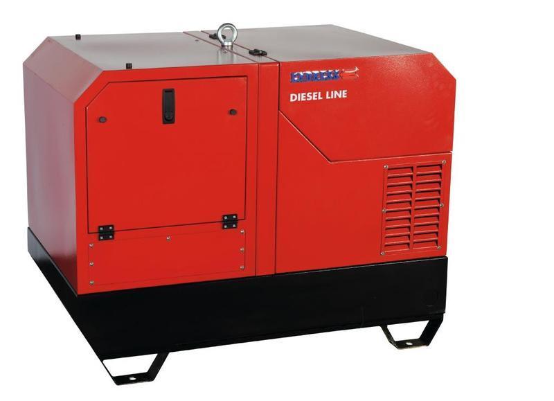 POWER GENERATOR for Professional users - ESE 1208 DHS-GT ES Diesel
