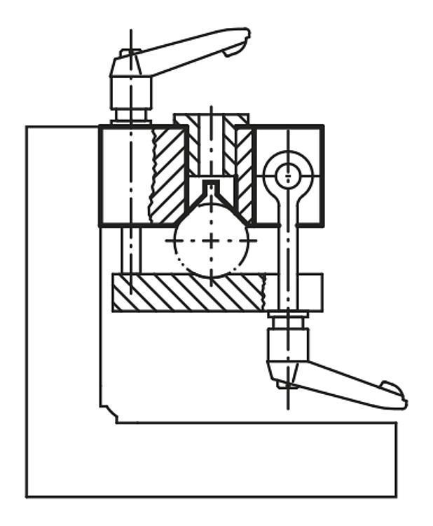 Profil en V grande largeur Fonte grise - Profilés
