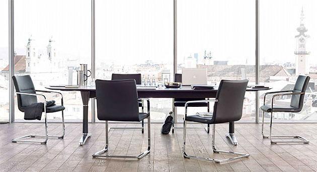 Konferenzstühle sign_2 - setzen Zeichen im Raum - null