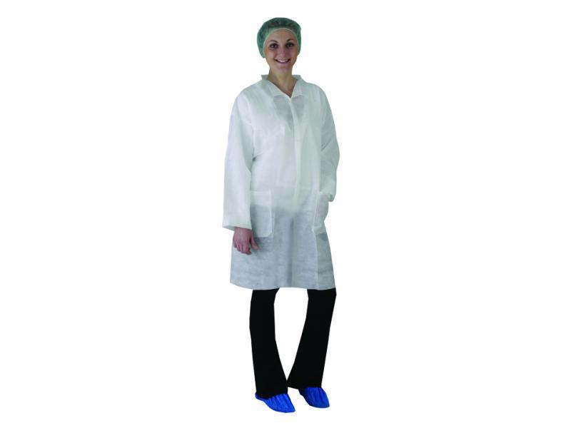 Kit visiteur (blouse, charlotte, masque et... - Protection individuelle EPI