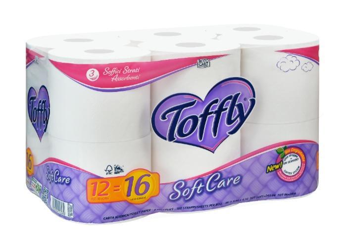 Carta Igienica Toffly - Prestige e  SoftCare