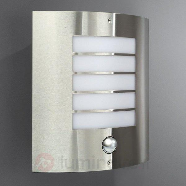 Applique d'extérieur infrarouge OSLO inox - Appliques d'extérieur avec détecteur