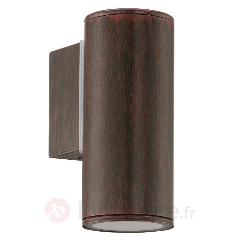 Brun ancien - applique extérieure LED Riga - Appliques d'extérieur LED