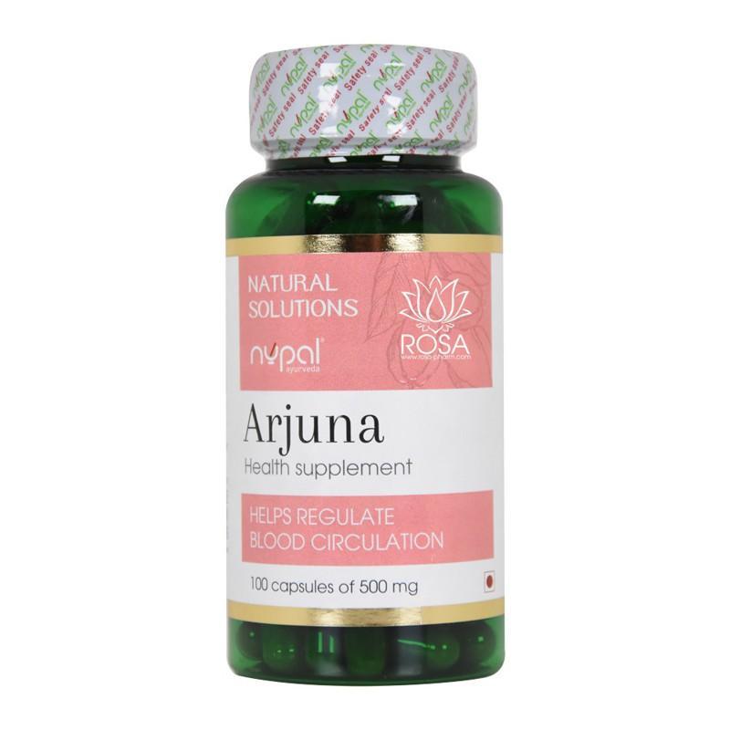 Арджуна (Arjuna Capsules, Nupal) - Восстанавливает здоровье сердца