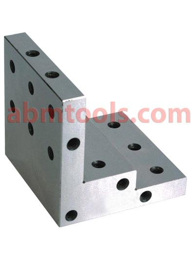 Stepped Angle Plate - An angle plate is a work holding device used as a fixture in metalworking.