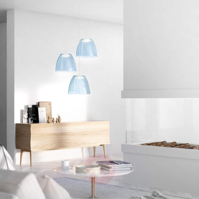 Blue Tenuto LED hanging light - Pendant Lighting