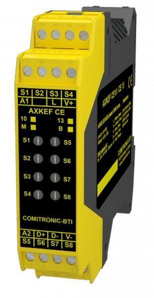 Lecteur de tag RFID avec sorties 8 bits pour automate - AXKEF CE13