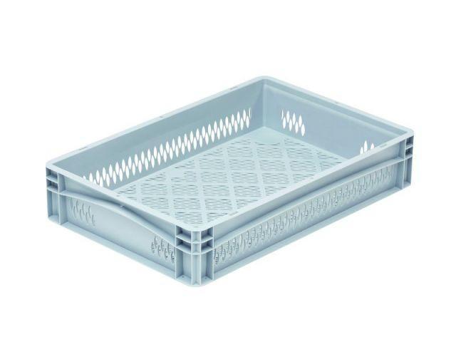 Stacking box: Base 6412 2 OG - Stacking box: Base 6412 2 OG, 600 x 400 x 120 mm