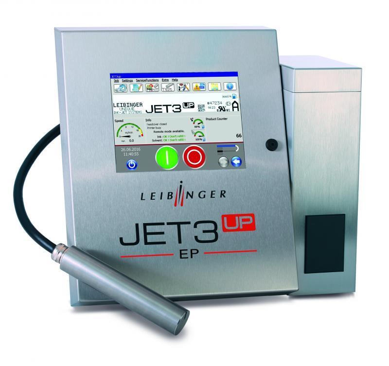 LEIBINGER JET3up EP - Industrieller Inkjet-Drucker
