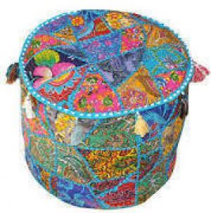 Embroidered Puffs -