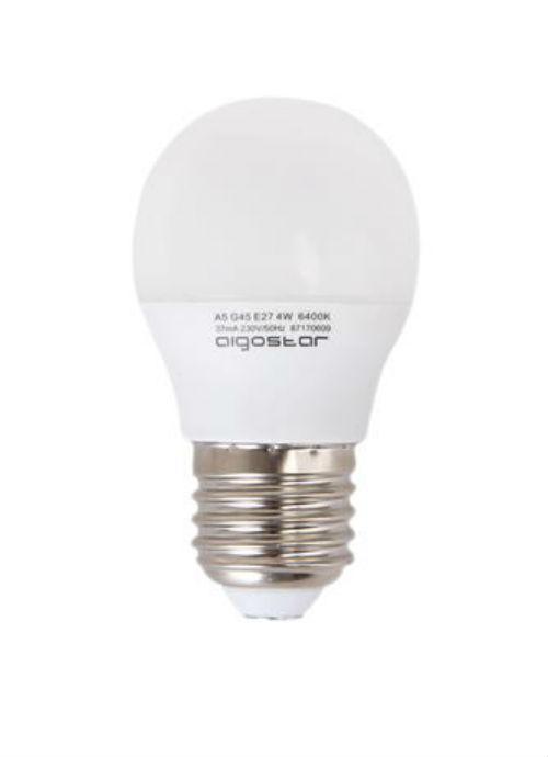 Lampadine LED E27 - 3/4/5W opaca 3000/6400K 225/310/325/360/390lm