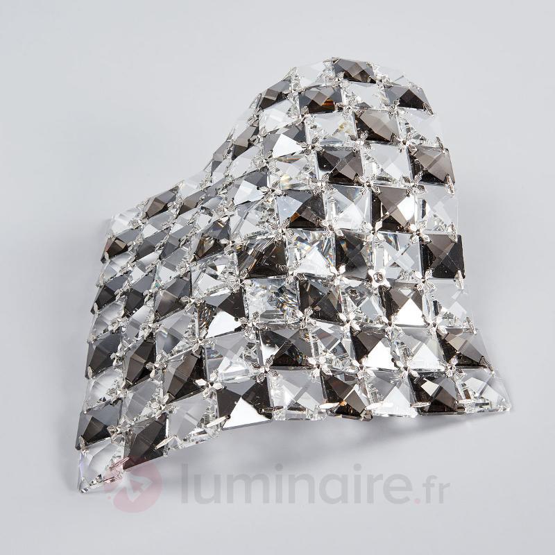 Applique exceptionnelle Saten en cristal 25 cm - Appliques en cristal