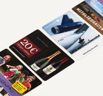 Standard cards - Printed plastic cards in best quality