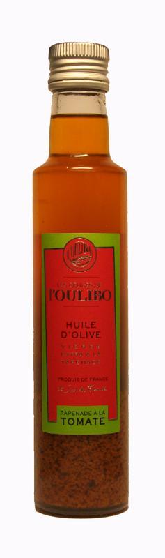 Huile d'olive à la tapenade à la tomate 25CL - Produits oléicoles