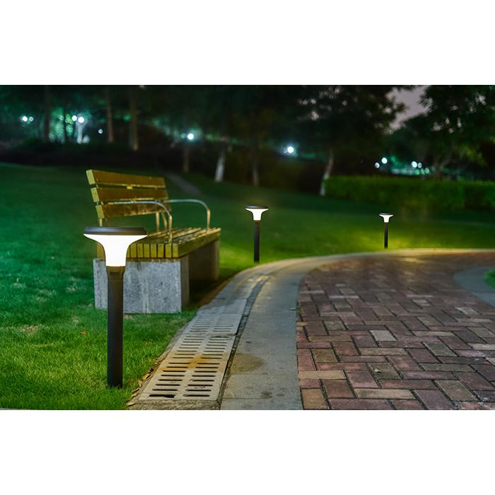 Solar Lamp Led Motion Detector Floor Mounted 70 Cm - Accessories