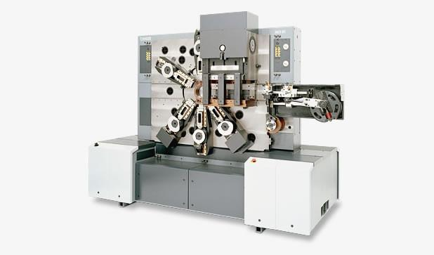 Mechanischer Stanzbiegeautomat - MCS 05 - Highspeed-Stanzbiegeautomat MCS 05 zur Massenfertigung von Stanzbiegeteilen
