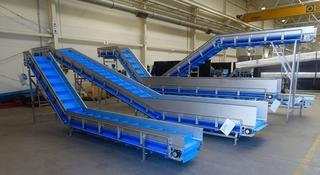 conveyors and tanks  - manufacturing machines and constructions for food industry