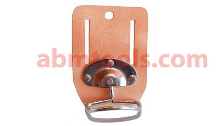 Revolving Hammer Holder - Swivel Type - Leather with movable chrome plated steel hammer holder.