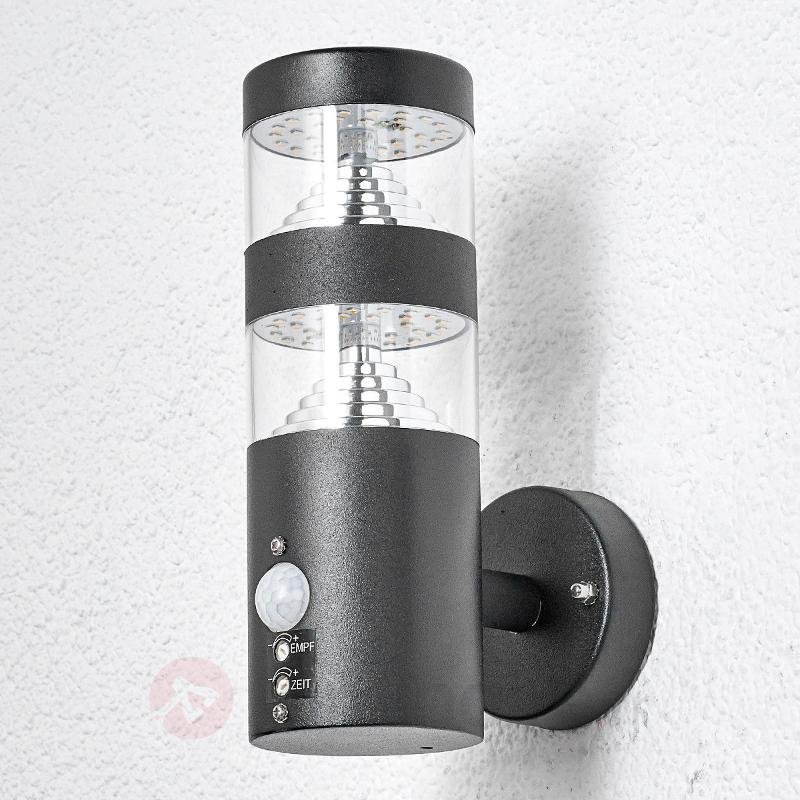 Applique d'extérieur LED Lanea à détecteur - Appliques d'extérieur avec détecteur