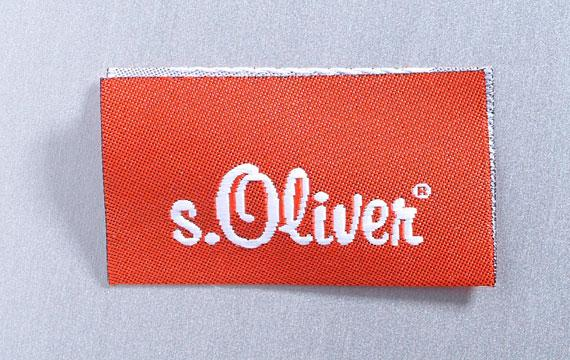 Woven label -