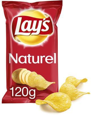 Lays chips Naturel 1202gr - 12 - Snacks salés / Chips grand format