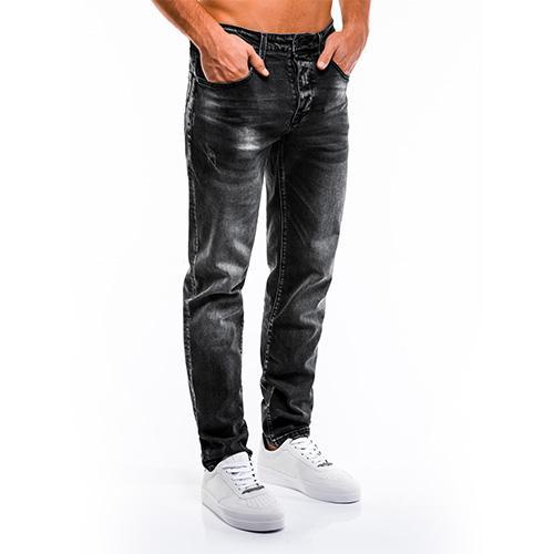 MEN'S JEANS  - regular fit, joggers, straight cut