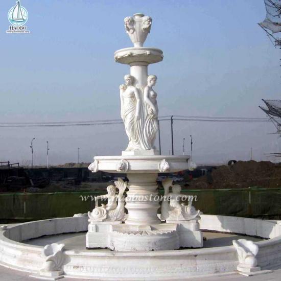 European Style Fountain Garden Marble Fountain - Fountain