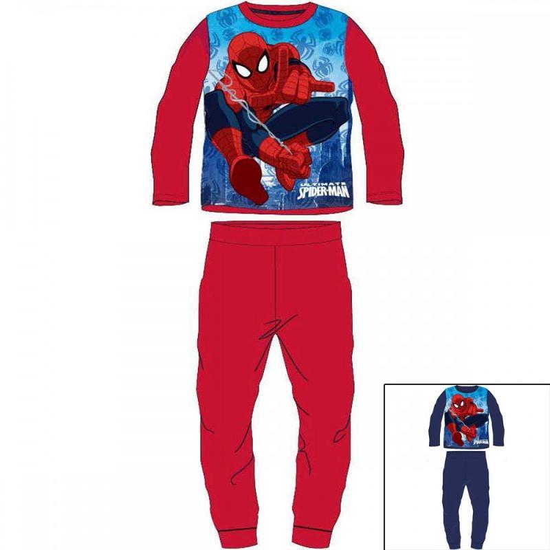 12x Pyjamas polaires Spiderman du 2 au 8 ans - Pyjama