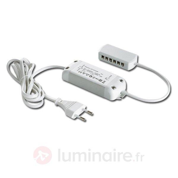 Transformateur LED 24/30W DC 24 V avec répartiteur - Transformateurs LED