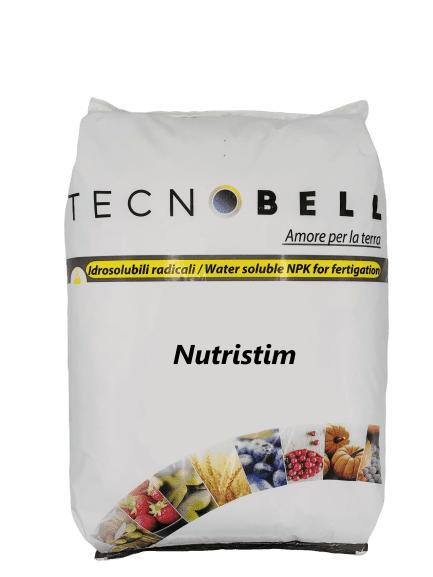 NUTRISTIM - Fertilizantes NPK solubles en agua para fertirrigación con algas y ácido fúlvico