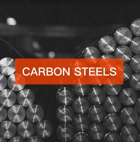 CARBON STEELS - Please check the description for available steel grades.