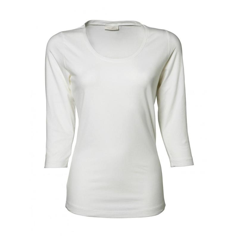 Tee-shirt femme Stretch 3/4 - Manches longues