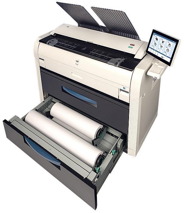 KIP 7580 A0 Grossformatkopierer und Netzwerkdrucker