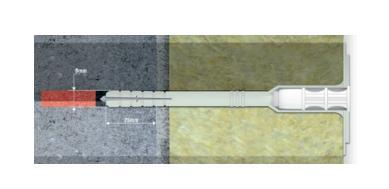 WKTHERM-8 isolatieplug - null