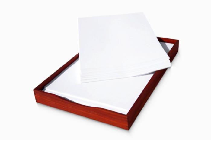 Padauk A4 Paper Tray & Magazine Holder - WOODSAKA - Padauk A4 Paper Tray & Magazine Holder